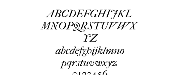 IM FELL French Canon PRO Italic Preview